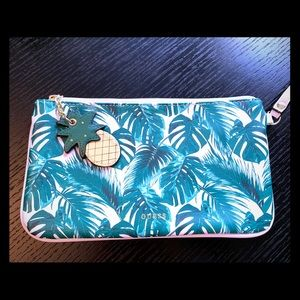 Guess wristlet with pineapple charm